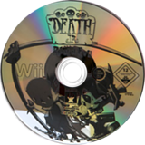 Death Jr.: Root of Evil Wii disc (RDJP4F)