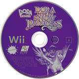 Dora Saves the Snow Princess Wii disc (RDPX54)