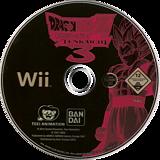 Dragon Ball Z: Budokai Tenkaichi 3 Wii disc (RDSPAF)