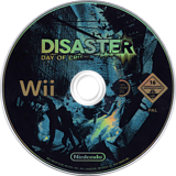 Disaster: Day of Crisis Wii disc (RDZP01)
