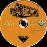 Celebrity Sports Showdown Wii disc (REAP69)