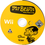 Mr Bean's Wacky World of Wii Wii disc (REBPMT)
