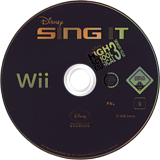 Disney Sing It: High School Musical 3 Wii disc (REYP4Q)