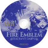 Fire Emblem: Radiant Dawn Wii disc (RFEP01)