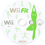 Wii Fit Wii disc (RFNP01)