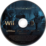 Spider-Man: Friend or Foe Wii disc (RFOP52)