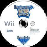 FaceBreaker: K.O. Party Wii disc (RFQP69)