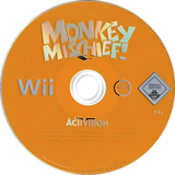 Monkey Mischief! 20 Games Wii disc (RFVP52)