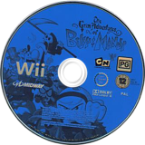 The Grim Adventures of Billy & Mandy Wii disc (RGMP5D)