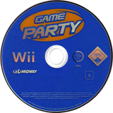 Game Party Wii disc (RGXP5D)