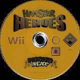 Hamster Heroes Wii disc (RH4XUG)