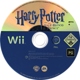 Harry Potter and the Half-Blood Prince Wii disc (RH6P69)