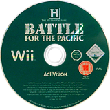 The History Channel: Battle for the Pacific Wii disc (RHCP52)