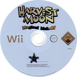 Harvest Moon: Magical Melody Wii disc (RHMP99)