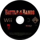 Battle of the Bands Wii disc (RHXP78)