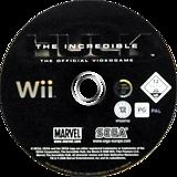 The Incredible Hulk Wii disc (RIHP8P)