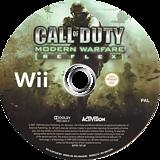 Call of Duty: Modern Warfare - Reflex Edition Wii disc (RJAX52)