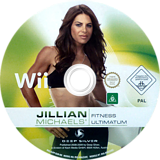 Jillian Michaels' Fitness Ultimatum 2009 Wii disc (RJFPKM)
