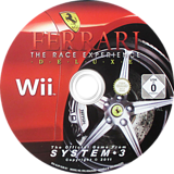 Ferrari: The Race Experience Wii disc (RJIP6M)