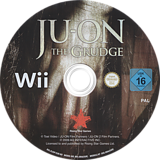 Ju-On The Grudge Wii disc (RJOP99)