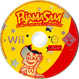 Pajama Sam: No Need to Hide when it's Dark Outside Wii disc (RJQP70)
