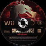 Mortal Kombat: Armageddon Wii disc (RKMP5D)