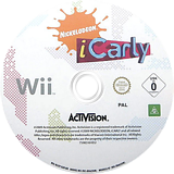 iCarly Wii disc (RL5P52)
