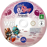 Littlest Pet Shop: Friends Wii disc (RL7P69)
