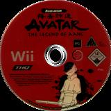 Avatar: The Legend of Aang Wii disc (RLVP78)