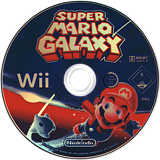 Super Mario Galaxy Wii disc (RMGP01)