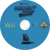 Mercury Meltdown Revolution Wii disc (RMMP7U)