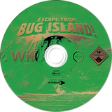Escape From Bug Island Wii disc (RN9P4F)