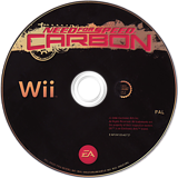 Need for Speed: Carbon Wii disc (RNSF69)