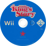 Little King's Story Wii disc (RO3P99)