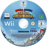 Mario & Sonic at the Olympic Winter Games Wii disc (ROLP8P)