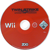 Twin Strike: Operation Thunder Wii disc (ROTP7J)