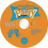 MySims Party Wii disc (RP4P69)