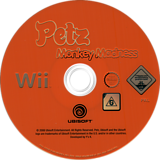 Petz Monkey Madness Wii disc (RP6P41)