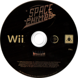 Space Chimps Wii disc (RP9XRS)