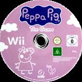 Peppa Pig: The Game Wii disc (RPHPPN)
