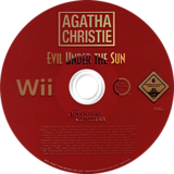 Agatha Christie: Evil Under the Sun Wii disc (RQEP6V)