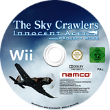 The Sky Crawlers: Innocent Aces Wii disc (RQRPAF)