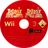Asterix at the Olympic Games Wii disc (RQXP70)