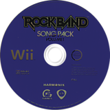 Rock Band Song Pack 1 Wii disc (RREP69)
