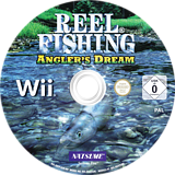Reel Fishing: Angler's Dream Wii disc (RRFPE9)