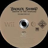 Broken Sword: Shadow of the Templars - The Director's Cut Wii disc (RSJP41)