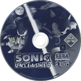 Sonic Unleashed Wii disc (RSVP8P)