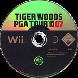 Tiger Woods PGA Tour 07 Wii disc (RT7F69)