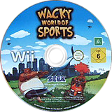 Wacky World of Sports Wii disc (RTIP8P)