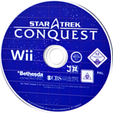 Star Trek: Conquest Wii disc (RTJP68)
